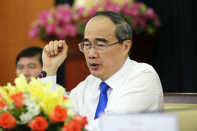 Bi thu Thanh uy TP.HCM Nguyen Thien Nhan: Can bo sai pham la ton that lon cua TP.HCM