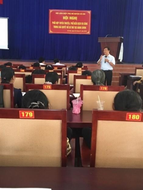 Huyện Củ Chi: Tuyên truyền về dịch vụ công trong giải quyết hồ sơ thủ tục hành chính