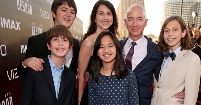 Sau ly hon, vo ti phu Jeff Bezos se la phu nu giau nhat the gioi?