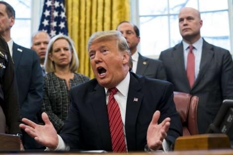 Tổng thống Trump: Họp về việc chính phủ đóng cửa 'chỉ tốn thời gian'
