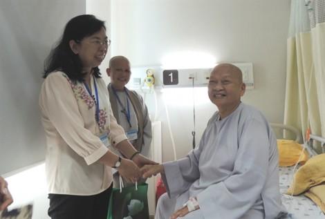 Hội LHPN chúc mừng Phân ban Ni giới Trung ương ra mắt nhân sự nhiệm kỳ mới