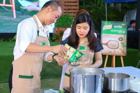 Chính thức ra mắt Knorr Natural - bột nêm tự nhiên mang vị ngon nguyên bản của bữa cơm gia đình Việt