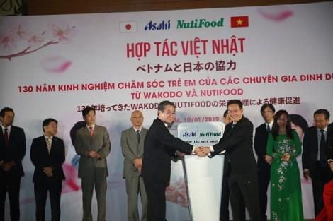 Ra mắt liên doanh hợp tác giữa Công ty NutiFood và Tập đoàn Asahi
