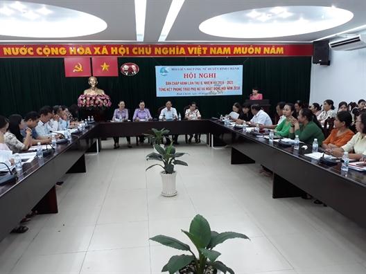 Huyen Binh Chanh: Ban giai phap nang chat luong cong tac Hoi nam 2019