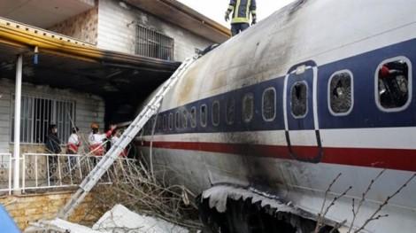 Tai nạn máy bay ở Iran, chỉ một người sống sót