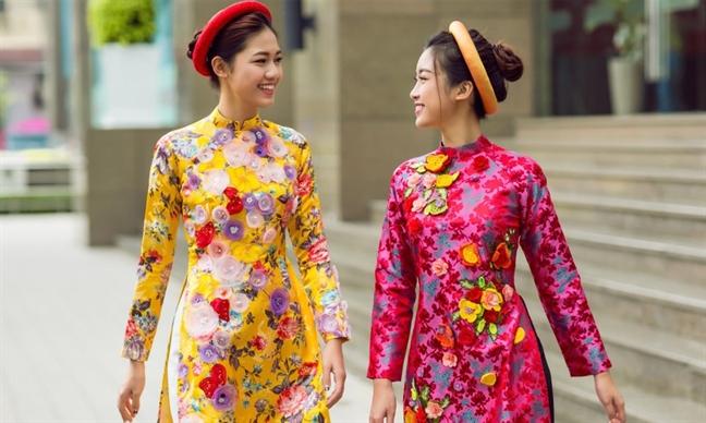 Kieu dang, chat lieu ao dai cach tan doc dao duoc long phai dep 2019