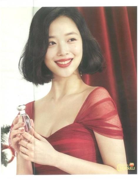 Bí mật làm nên vẻ đẹp của 'nữ thần gợi cảm' xứ Hàn Sulli