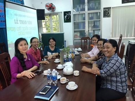 Quận 5: Trao 50 triệu đồng hỗ trợ phụ nữ khởi nghiệp