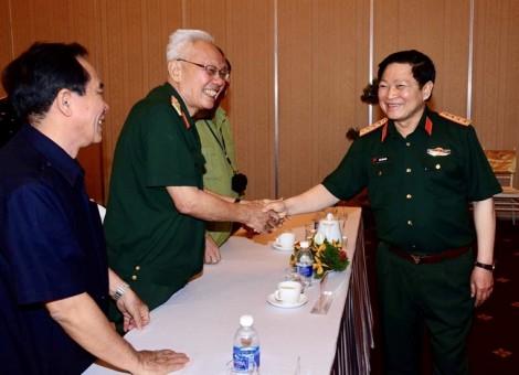 Bộ Quốc phòng gặp mặt cán bộ cao cấp quân đội nghỉ hưu khu vực phía Nam