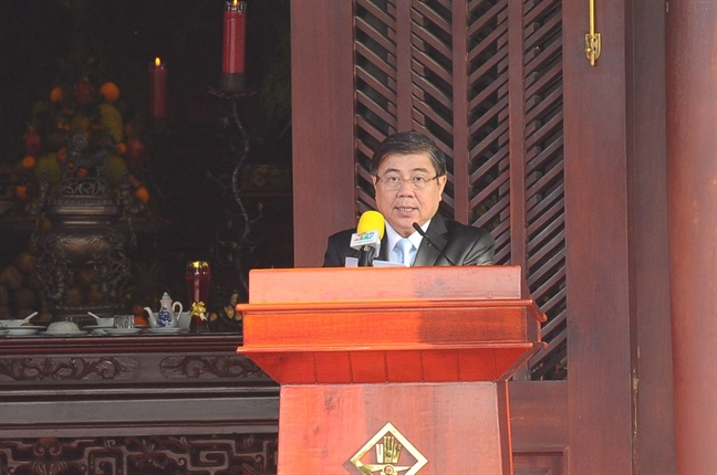 Le an vi va khanh thanh tuong duc Le Thanh hau Nguyen Huu Canh