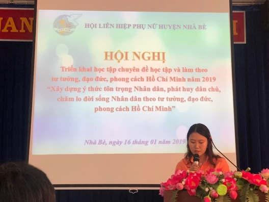 Huyen Nha Be: Pho bien chuyen de hoc tap va lam theo guong Bac nam 2019