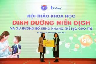 Vita Dairy trao tặng 1.000 ly Colosbaby cho trẻ em có hoàn cảnh đặc biệt khó khăn