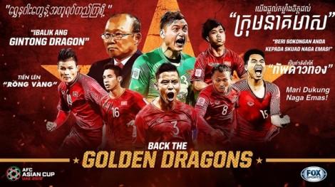 Đông Nam Á nhất loạt ủng hộ đội tuyển Việt Nam hạ Nhật Bản