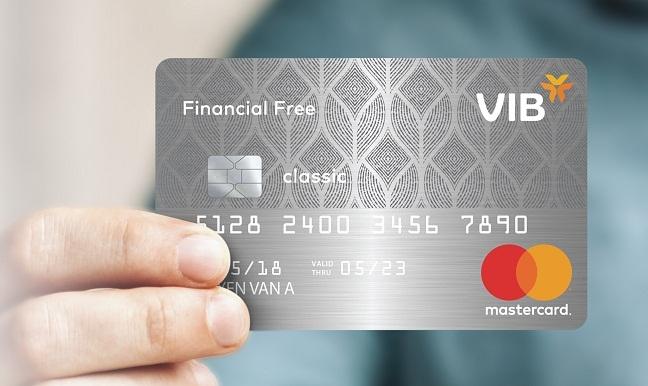 The tin dung VIB Financial Free: Mien phi tron doi, mien lai