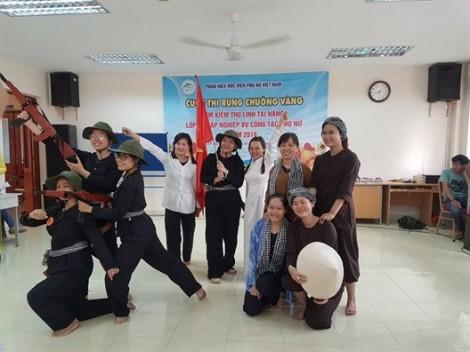 51 cán bộ nhận chứng chỉ bồi dưỡng nghiệp vụ công tác phụ nữ