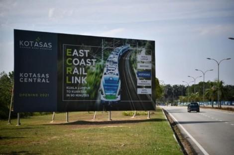 Malaysia hủy dự án đường sắt 20 tỷ USD với nhà thầu Trung Quốc