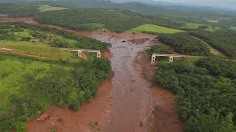 Vỡ đập Brumadinho ở Brazil: Hết hy vọng tìm thấy hàng trăm người mất tích