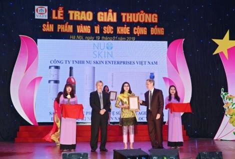 5 sản phẩm của Nu Skin Việt Nam được vinh danh 'Sản phẩm vàng vì sức khỏe cộng đồng'