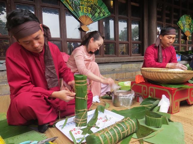 Man nhan 'Huong vi tet xua' trong Hoang cung Hue