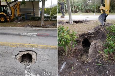Mỹ: Mặt đất lún làm lộ đường hầm siêu nhỏ dẫn đến ngân hàng