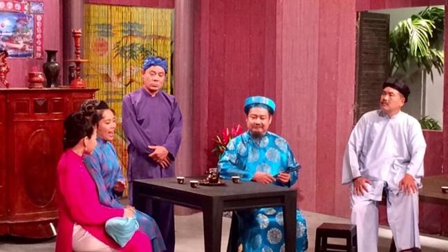 Dac sac chuong trinh truyen hinh chao Tet Ky Hoi
