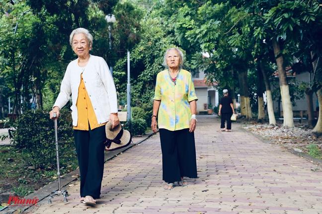 Ngay cuoi nam o Vien duong lao: 'soan' cho minh cai tet khong con chau