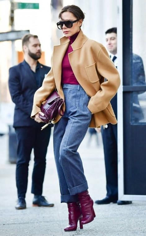 Những món thời trang giúp nàng mặc đẹp như Victoria Beckham