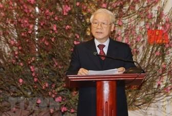 Tổng Bí thư, Chủ tịch nước Nguyễn Phú Trọng gửi thơ chúc tết vào đêm giao thừa
