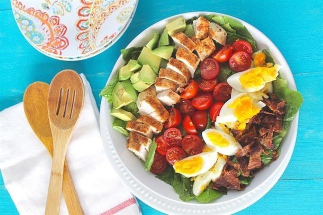 Thuc don salad tuyet voi cho ngay tet
