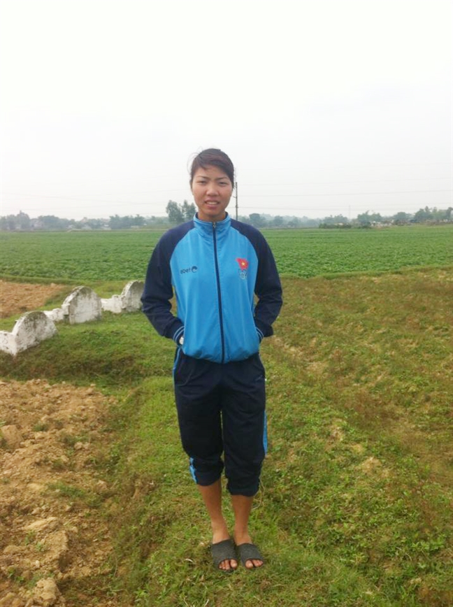 'Bo vang' Thu Thao: sau moi cu nhay la quyet tam chua benh cho bo