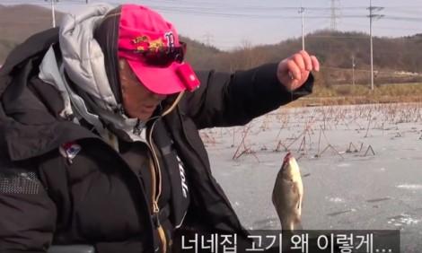 Khán giả Hàn phát sốt vì tài câu cá của 'lão đại' Lee Deok-hwa