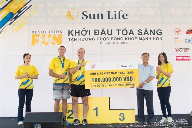 Hon 3000 nguoi tham gia duong chay khoi dau mot nam moi toa sang Sun Life Viet Nam - Resolution Run 2019