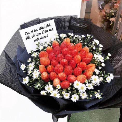 Quà hoa gói tiền thật 'cháy hàng' mùa Valentine