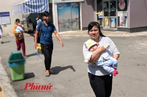 Sài Gòn nóng ngay sau tết, phụ huynh ùn ùn đưa con nhập viện