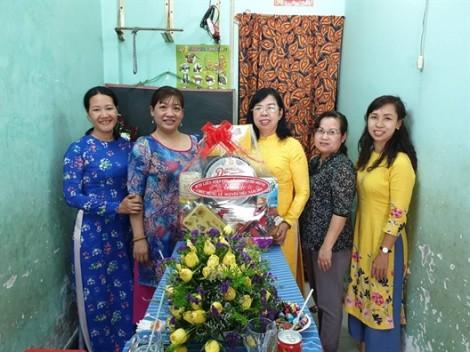 Hội LHPN TP.HCM thăm và chúc mừng Tết Nguyên tiêu