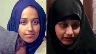 Tổng thống Trump không cho phép cô dâu phiến quân IS về Mỹ