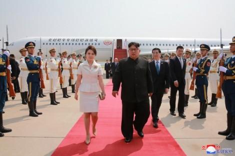 Gu thời trang thanh lịch của phu nhân chủ tịch Kim Jong Un