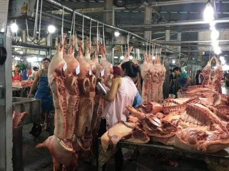Thịt heo lưu thông trên thị trường vẫn an toàn