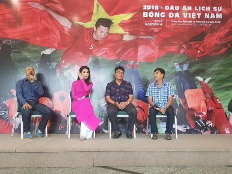 Cùng Nguyễn Á ngắm lại những thời khắc lịch sử của bóng đá Việt Nam