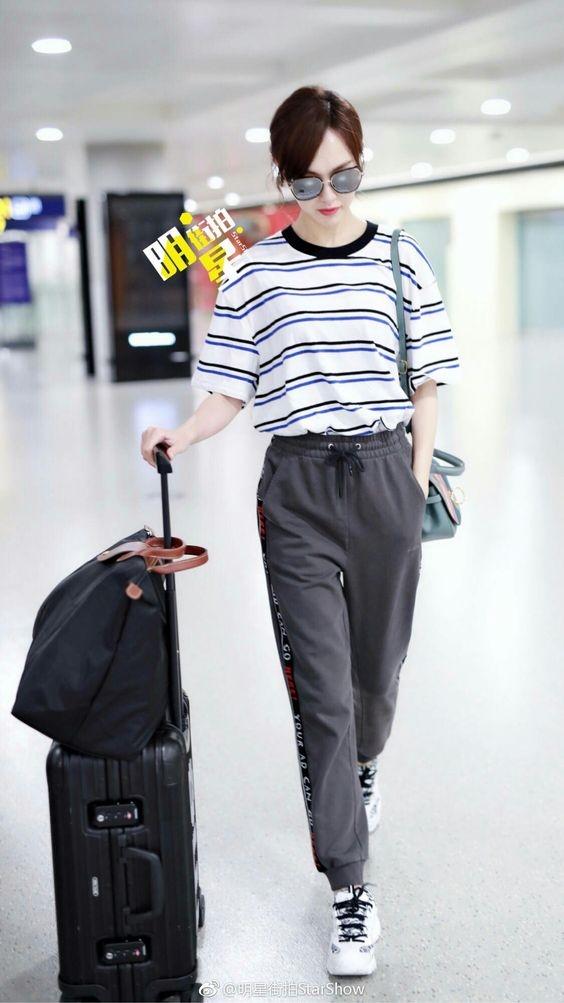 Gu thoi trang da sac mau cua sao chau A Duong Yen