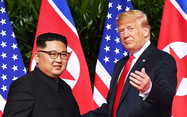 Ong Trump muon Trieu Tien co hanh dong thuc chat, y nghia