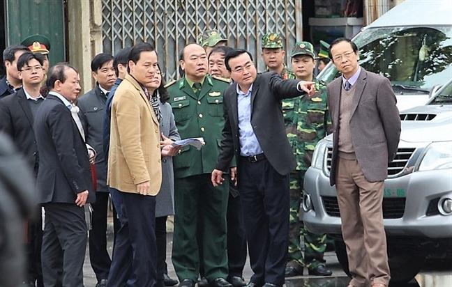 Ga Dong Dang chuan bi don doan tau cua Chu tich Kim Jong-un