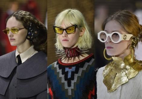 Loạt phụ kiện trở thành xu hướng tại Milan Fashion Week