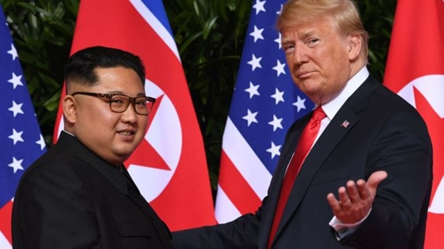 'Thuc don' nao cho bua toi cua hai nha lanh dao Donald Trump - Kim Jong Un