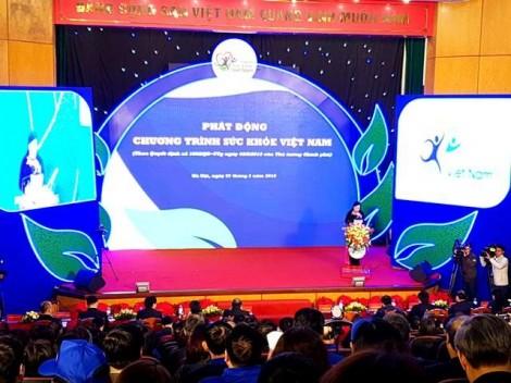 Thủ tướng Nguyễn Xuân Phúc phát động chương trình 'Sức khỏe Việt Nam'