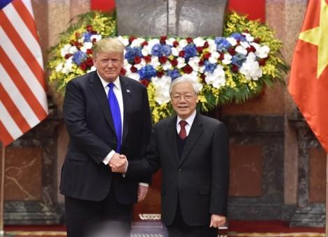 Tổng thống Trump mời Tổng Bí thư, Chủ tịch nước Nguyễn Phú Trọng thăm chính thức Mỹ năm 2019