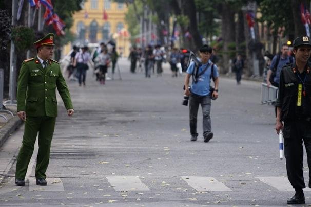 Tong Bi thu, Chu tich nuoc Nguyen Phu Trong don Chu tich Trieu Tien Kim Jong-un bang nghi thuc cao nhat