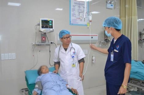 Nữ bệnh nhân ở Phú Thọ ngộ độc thuốc tê khi đang sinh thiết khối u