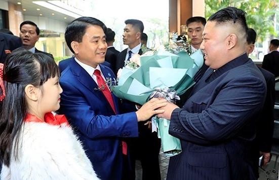Nhung hinh anh than thien cua Chu tich Trieu Tien Kim Jong-un tai Viet Nam