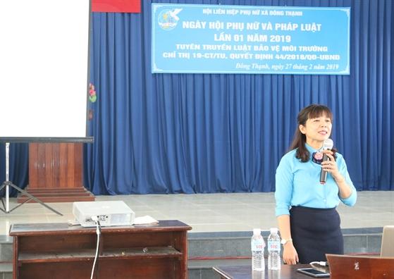 Huyen Hoc Mon: Nang cao trach nhiem hoi vien tham gia bao ve moi truong
